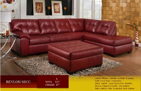 Revlon (Red) Sectional